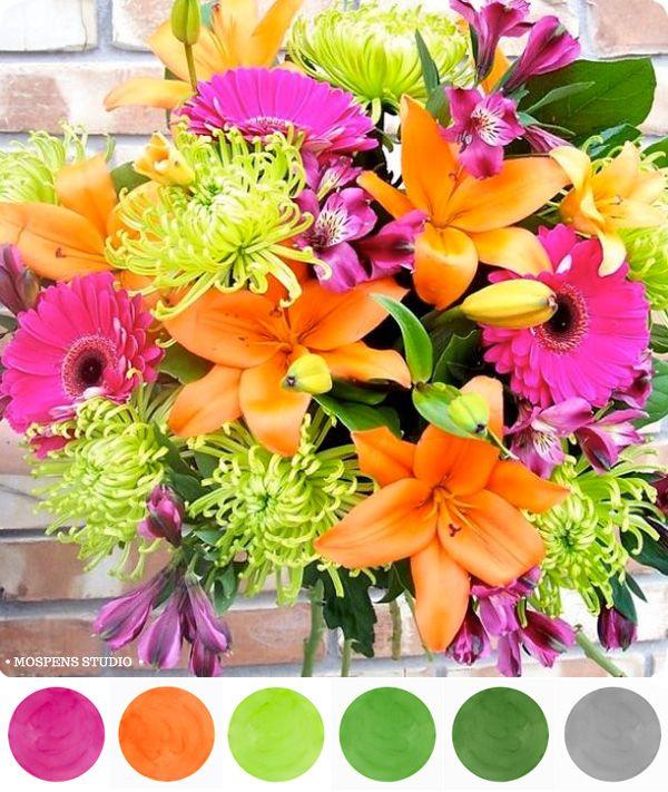 summer wedding colors for 2013 | Summer Splendor : Color Inspiration « Unique Wedding Invitations ...