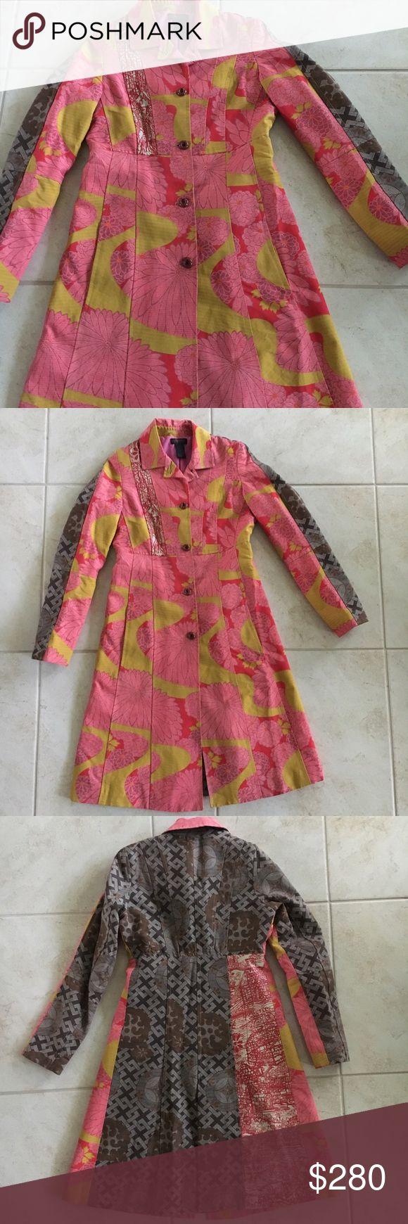 EUC Custo patchwork jacket Tailored, flattering jacket - vintage Custo Custo Barcelona Jackets & Coats