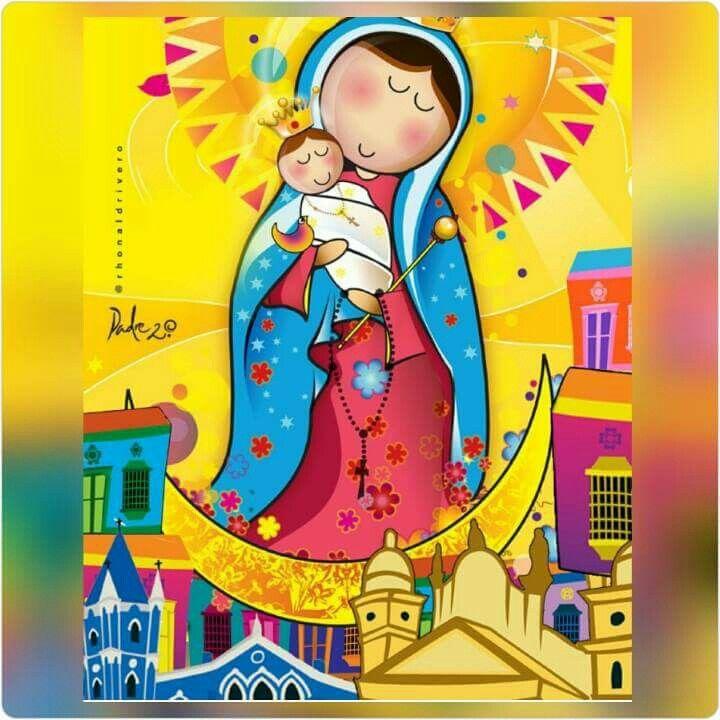 Virgen de chiquinquira patrona de Maracaibo