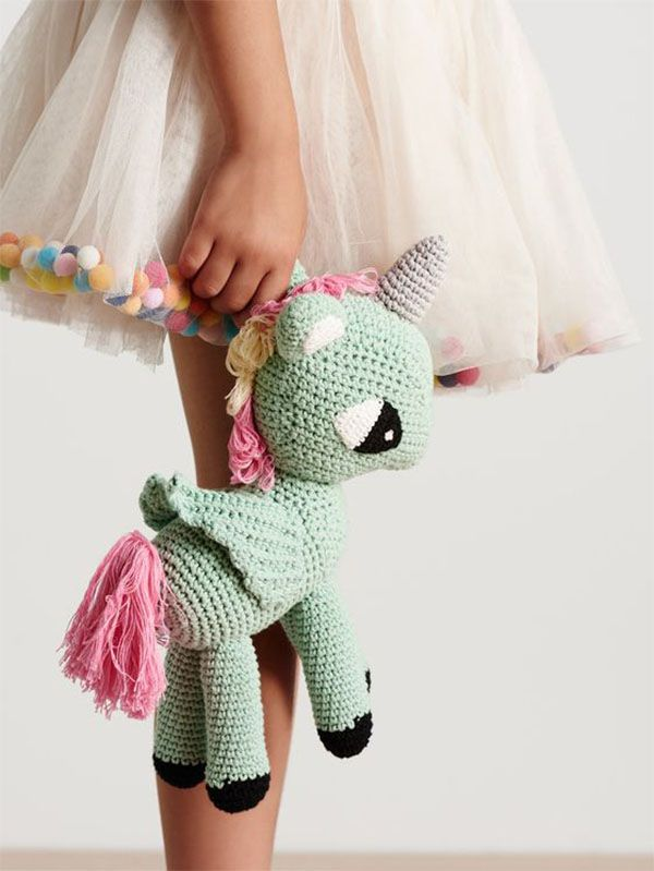 What's your Amigurumi spirit animal? The Rainbow Unicorn: he amigurumi unicorn…