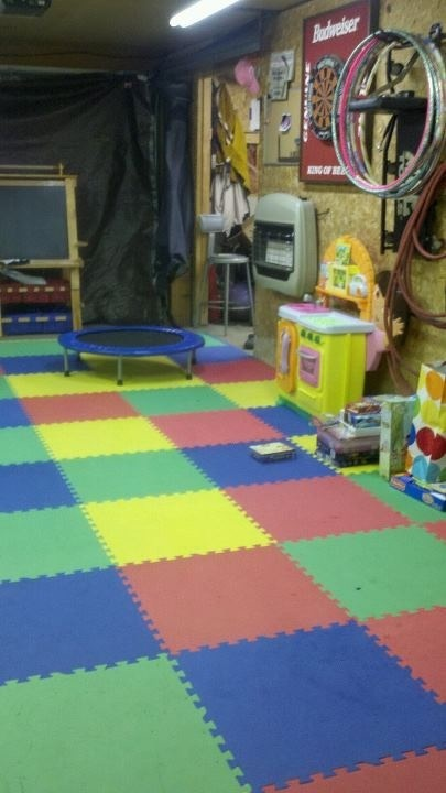 Best ideas about garage playroom on pinterest