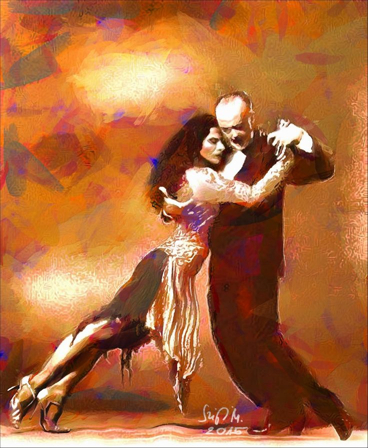 Check out The real tango by Miklós Szigeti at eagalart.com