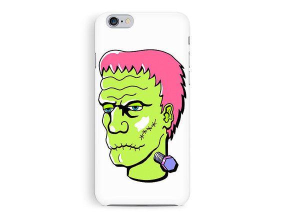 HALLOWEEN iPhone case, Goth iPhone Case, Frankenstein iPhone Case, iPhone 6 Case, Zombie Phone Case, Bumper Case, Hand drawn iPhone Case