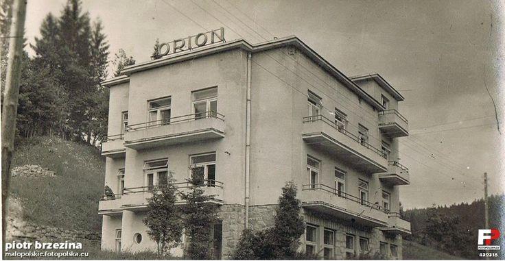 Pensjonat Orion, Krynica Zdrój, 1962