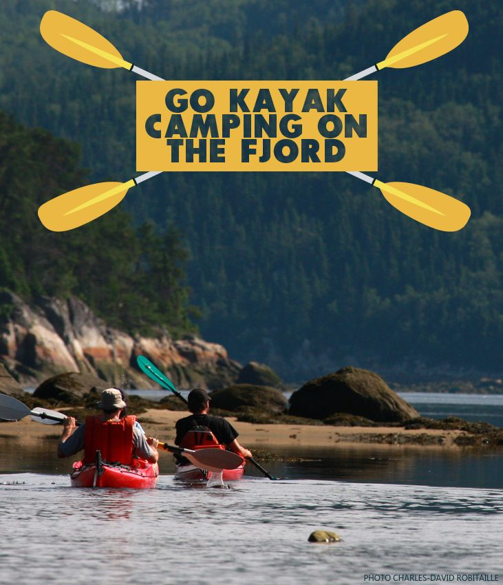 Reason #138 to visit the Saguenay-Lac-Saint-Jean region this summer : Go kayak camping on the #Saguenay Fjord. #175reasons #QcOriginal