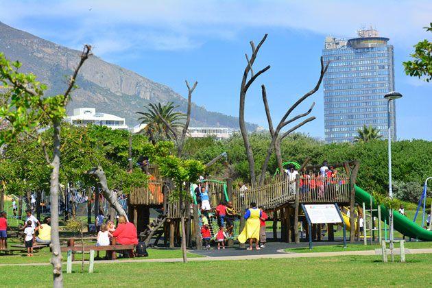 A park for the older children.