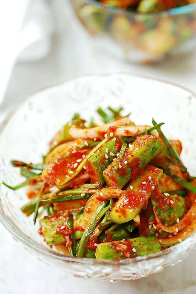 Cucumber Kimchi Oi Kimchi