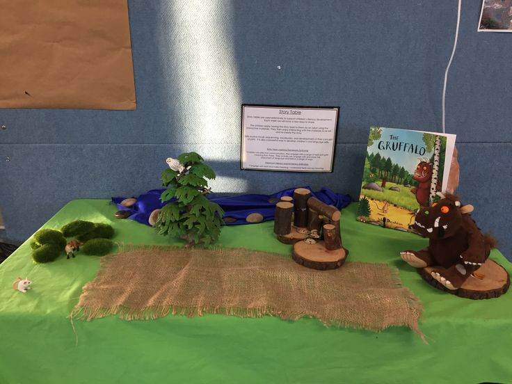 The Gruffalo story table