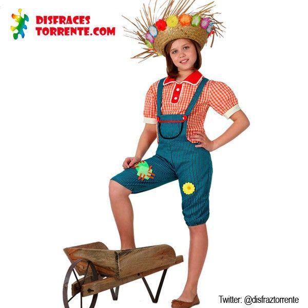 Disfraz Granjera Campesina