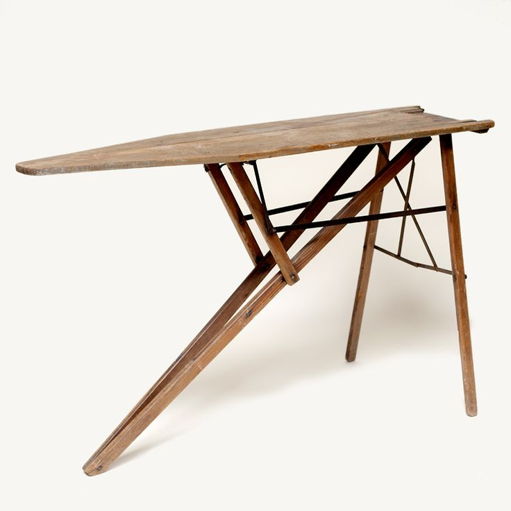 Industrial Laundry room: Wooden ironing board can be used as a table, part  of a display or installation - 82 Best Ironing Boards Images On Pinterest Ironing Boards, Iron