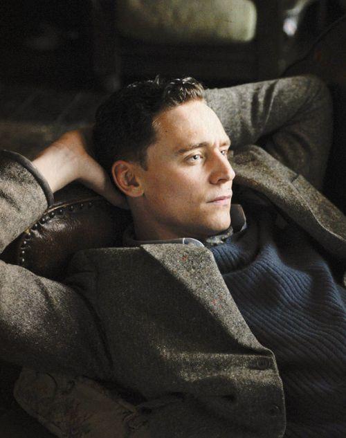 Tom Hiddleston in The Deep Blue Sea.