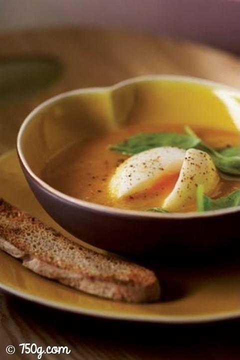 Bonjour les petits loups ! Je me prépare une petite soupe de légumes aux œufs :) => http://ow.ly/VpaU309HwOA
