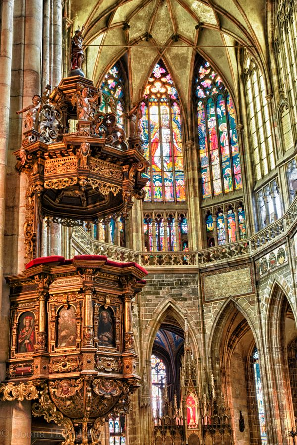 St. Vitus Cathedral 2, by Joona Hakulinen.