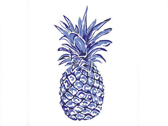 Pineapple temporary cute arm tattoo design T7 by EDMbellishments