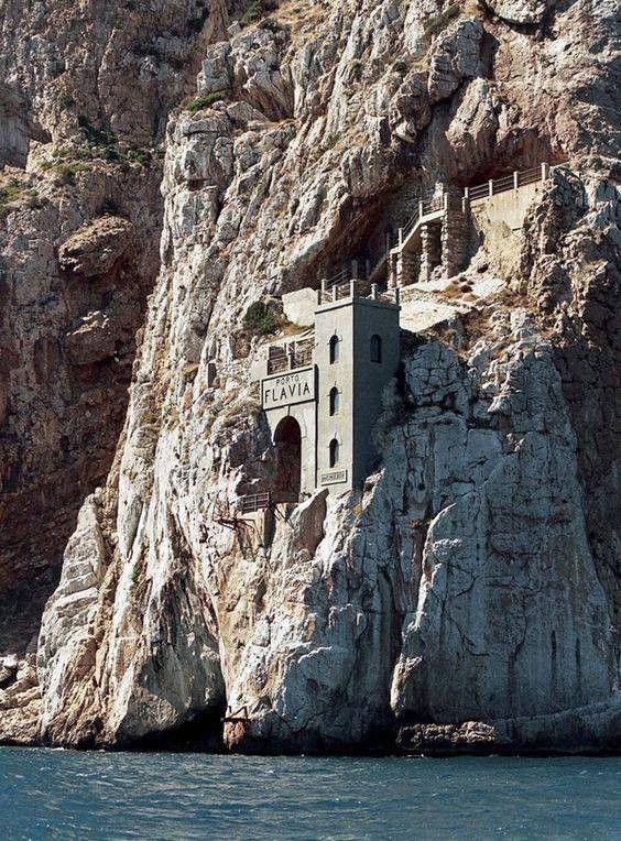 Sardegna/ Sardinia Porto Flavia. Italy