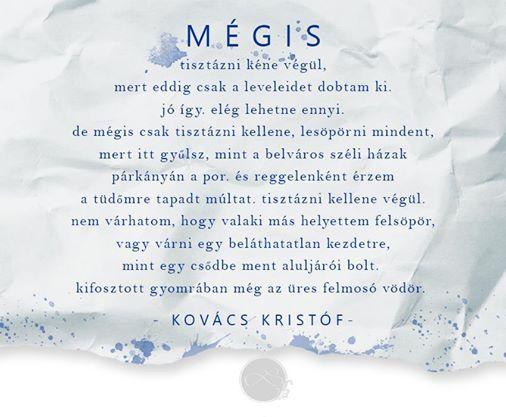Kovács Kristóf #idezet #quotes #vers #poetry #kovacskristof