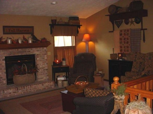 Primitive Country Living Room Ideas