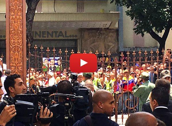 Régimen ordena tomar instalaciones de la Asamblea Nacional