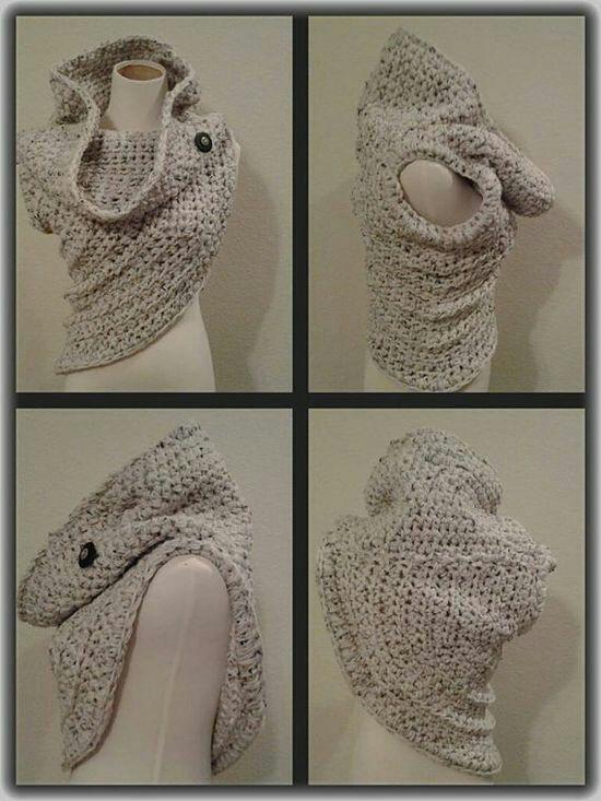 beautiful Katniss Everdeen inspired cowl