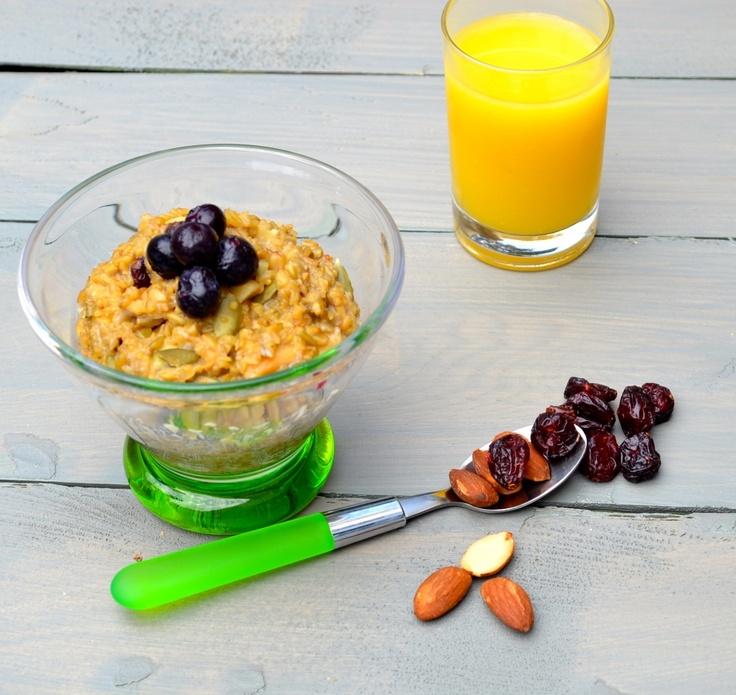"""Vegan Freekeh Breakfast """"Pudding"""""""