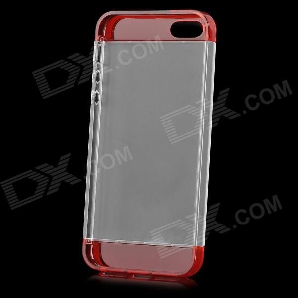 Brand: S-What; Quantity: 1 Piece; Color: Red + white; Material: PC; Type: Back Cases; Compatible Models: Iphone 5 / 5s; Other Features: Protects your device from scratches dust and shock; Packing List: 1 x Protective case; http://j.mp/VzoUZd