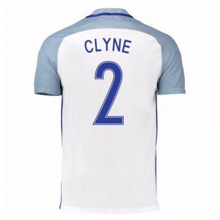 England 2016 Nathaniel Clyne 2 Hjemmedrakt Kortermet.  http://www.fotballpanett.com/england-2016-nathaniel-clyne-2-hjemmedrakt-kortermet-1.  #fotballdrakter