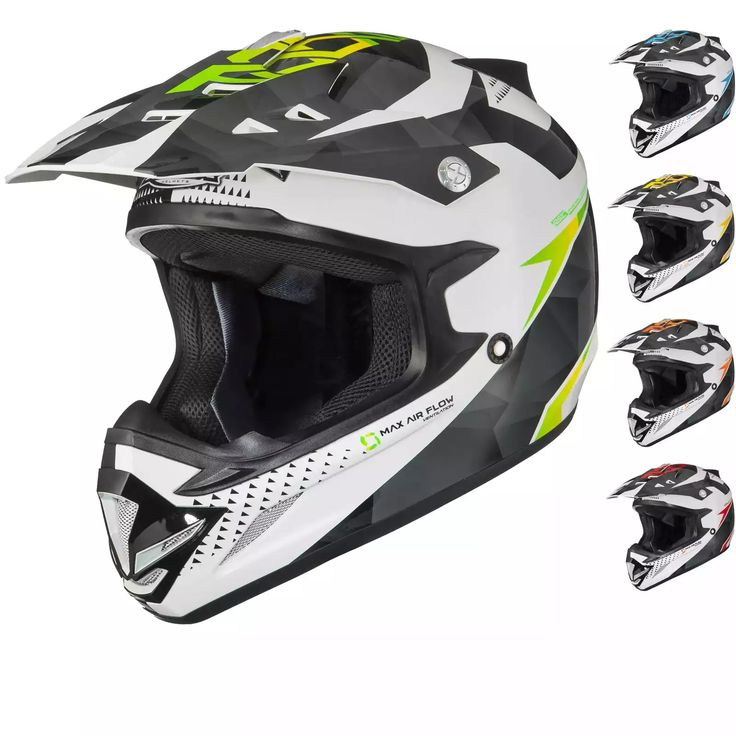 Get 63% off Shox MX-1 Shadow Motorcross Helmet, now available for just £29.99 available at Ghost Bikes: