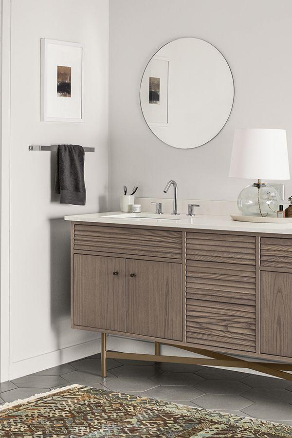 Room Board Adrian Bathroom Vanity Cabinets With Top Modern