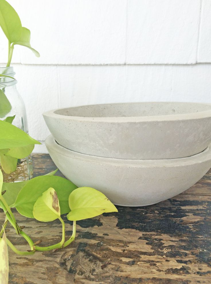 Large Cement Planter | Large Cement Pot | Concrete Pot ...