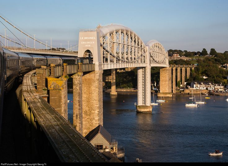 RailPictures.Net Photo: 43 First Great Western HST at Saltash, United Kingdom by Georg Trüb