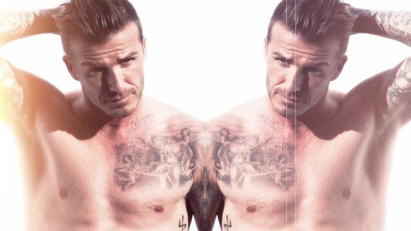 David Beckham for Elle UK shooting his cover!