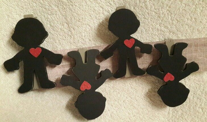 Boy & Girl black board pegs. Orders @ creative.organizingandcleaning@gmail.com or phone Rozanne 071 679 3376