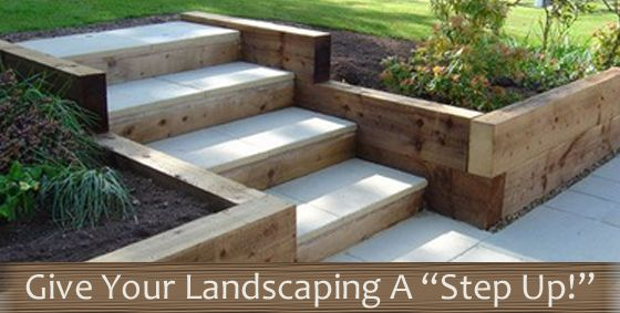 This is your #summer guide for incorporating #steps into your #landscaping! #gardening #landscaping