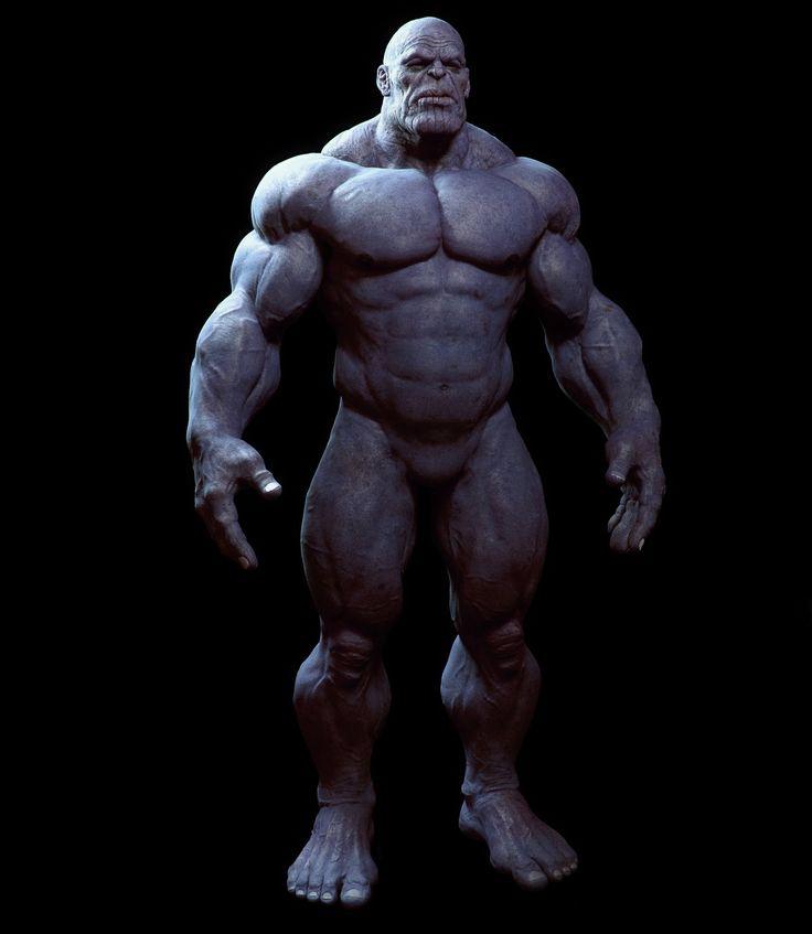 Bad_Koala's Cave: Thanos body test