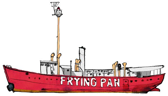 FRYING PAN, PIER 66