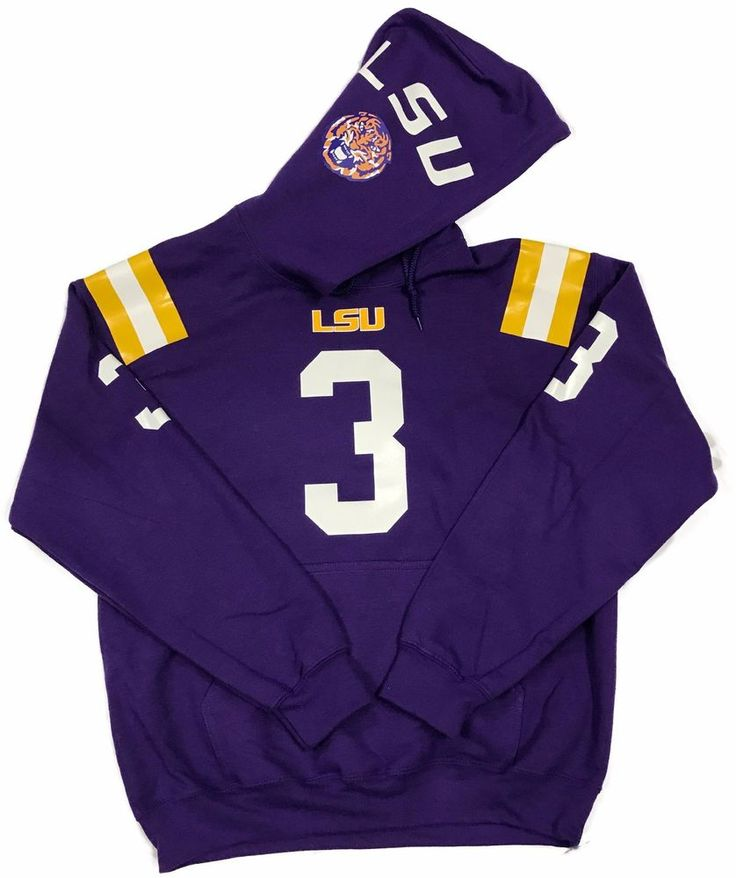 LSU Tigers Odell Beckham #3 Jersey Hoody Sweatshirt SEC #USC
