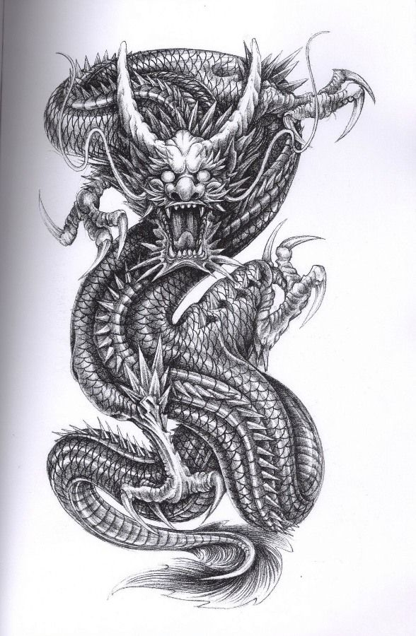 Dragon Tattoo for some remembers #dragon #tattoos #tattoo
