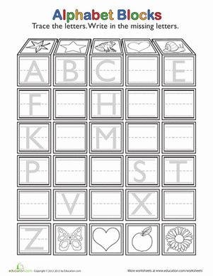 25+ best ideas about Letter tracing worksheets on Pinterest ...