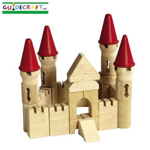 Guidecraft Castle Block Set Guidecraft