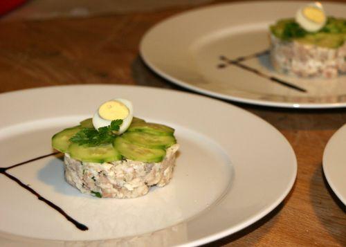 Trout tartar #dinner #starter @Cincsor.Transylvania.Guesthouses