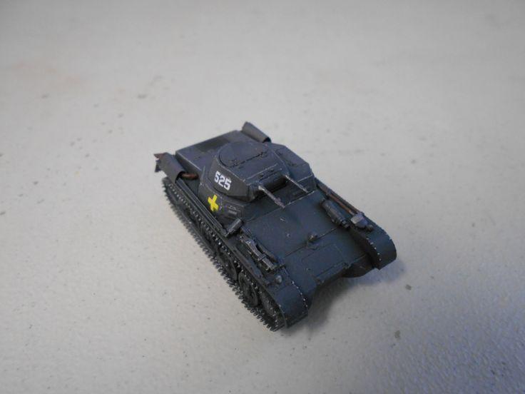 S-Model 1:72 Pz. I Ausf. A (Panzer 1) by Mokanaman