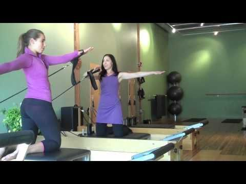 Pilates Arm Series on the Reformer - YouTube