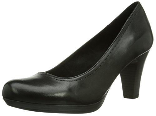 Tamaris 22410, Damen Plateau Pumps, Schwarz (Black 001), 42 EU (8 Damen UK)