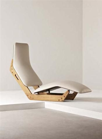 thedesignwalker:  Ilmari Tapiovaara, Dolphin Chaise Longue for...