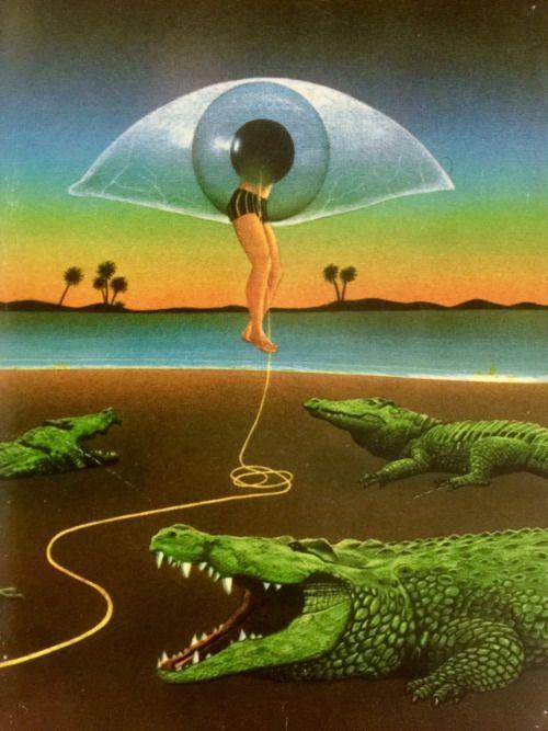 """""""A Bundle of Nerves"""" (author: Joan Aiken) by Peter Goodfellow (1978)"""