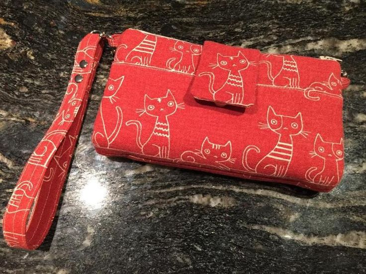 Emzed Foldover Clutch (wallet / purse) | Craftsy