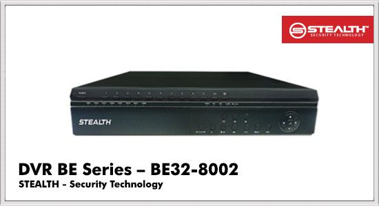 DVR BE Series BE32-8002