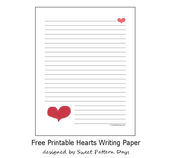 33 best stationery images on Pinterest Free printable, Writing - printable writing paper template