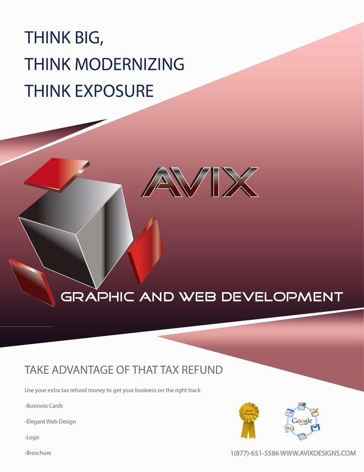 AVIX Graphic and Web Development: AVIX DESIGNS   TIME TO MODERNIZE YOUR BUSINESSREAD...