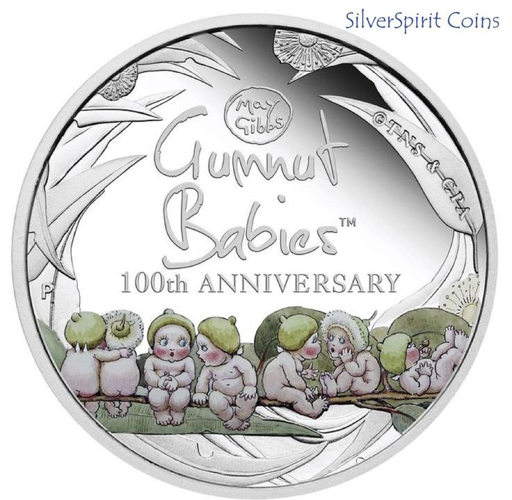 2016 GUMNUT BABIES 100th ANNIVERSARY 1oz Silver Proof Coin & Book